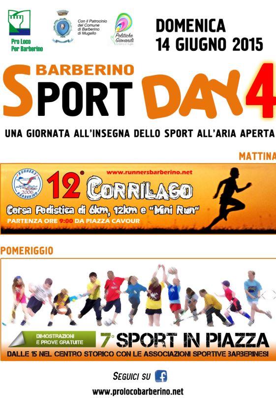 Locandina Sport Day 4