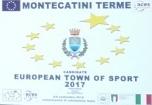 Montecatini Comune Europeo dello Sport per il 2017