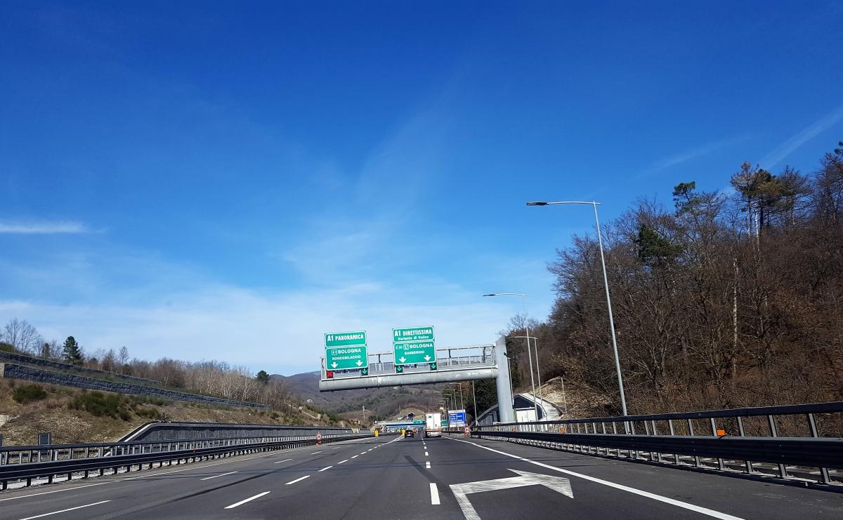 A1 Milano-Napoli Direttissima: chiusura dell'intero tratto