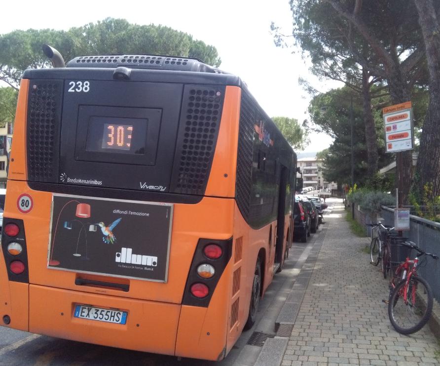 Nuovi percorsi e maggiore frequenza per i bus tra Calenzano e Firenze