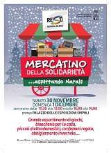 locandina MERCATINO DI NATALE 2019 Re.So.