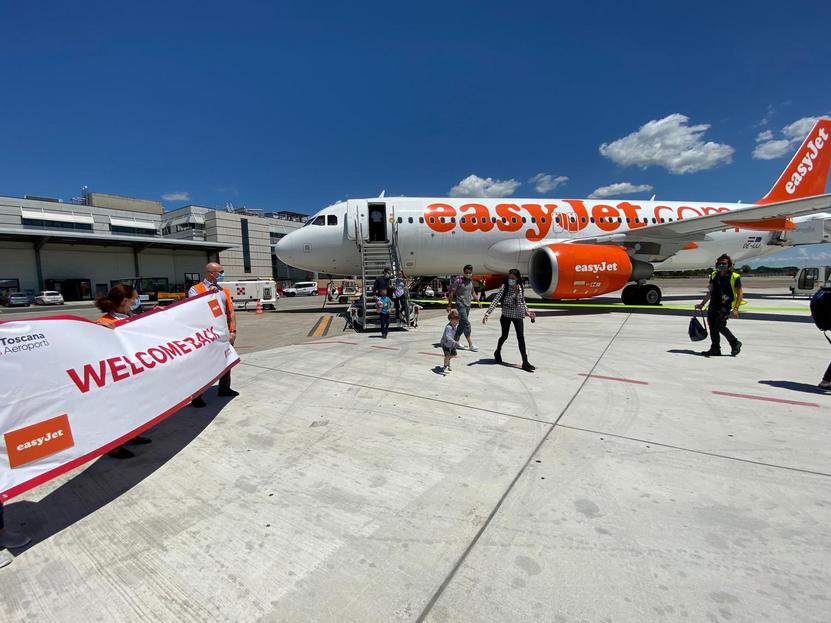 EasyJet riattiva i collegamenti con l'aeroporto di Pisa