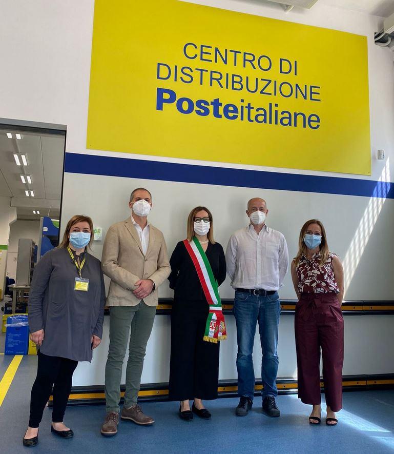 Inaugurazione Centro di Distribuzione Postale di Pontassieve