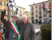 Il sindaco Spinelli con Rino Testai