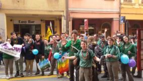 Gli scout fiorentini a Bologna