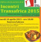 Locandina incontri Transafrica