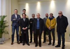 Inaugurazione della Sala d'attesa per la cremazione della Misericordia di Prato