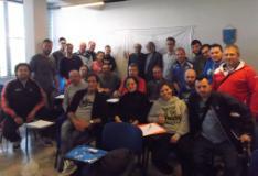 Iscritti al Corso per istruttori di Base organizzato dal Coni di Prato