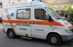 L'ambulanza donata da Fucecchio