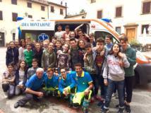 Incontro di formazione con i ragazzi delle Medie alla Misericordia di Montaione