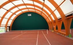 Nuova copertura dei campi da tennis di San Pierino