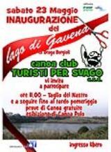 Cerreto. Inaugurazione Lago di Gavena, ex Draga Borgioli