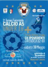 Volantino Torneo femminile di calcio a cinque e finale della coppa Italia per ipovedenti
