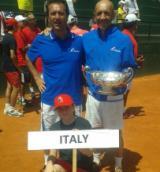Antonio Padovani e Simone Galli con la Potter Cup 2015