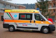 Nuova ambulanza Fratellanza Popolare Valle del Mugnone