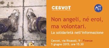Locandina incontro Cesvot - Associazione Stampa Toscana