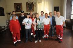 Partita Amicizia con Croce Rossa, Nazionale Deejay, Prato e Pistoiese