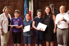 Premiazione della 43ª edizione del concorso didattico per gli studenti legato alla manifestazione ludico-motoria Guarda Firenze