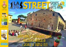 Lastra street sports and arts area - locandina
