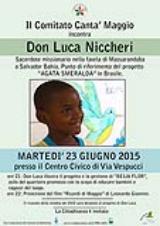 Barberino. Una serata per Don Luca Niccheri ed il progetto Agata Smeralda