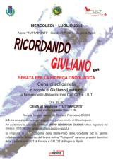 Ricordando Giuliano... 1° luglio 2015