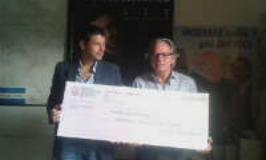 La Nazionale Calcio Montepaschi dona 3500 Euro alla ATT