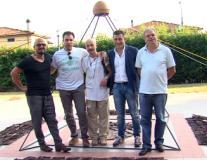 Inaugurazione mostra di Simone Azzurrini alla Misericordia di Montemurlo