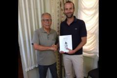 La firma per accordo Museo Bartali
