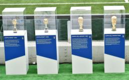a Palazzo Vecchio l'esposizione delle 4 Coppe del Mondo vinte dalla Nazionale di calcio