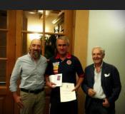 Pietro Ghedin fra Raffaele Righetti e Andrea Claudio Galluzzo