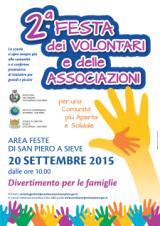 seconda festa dei volontarie  delle associazioni