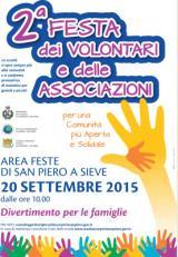 Manifesto della Festa dei volontari e delle associazioni