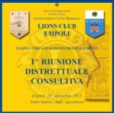 Empoli. In Santo Stefano 400 Lions da tutta la Toscana per la riunione distrettuale