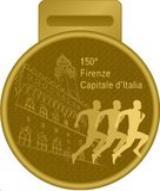 Medaglia per i 150 anni di Firenze Capitale