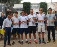 Squadra maschile under 16 del Tc Prato