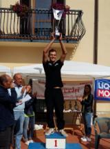 Matteo Scali sul podio