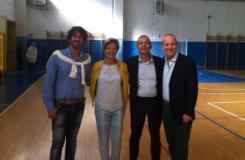 Presentazione attivita' al Palazzetto dello sport di Strada in Chianti