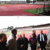 Nuova pista dello stadio Ridolfi