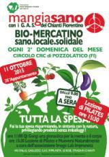 LOcandina del Bio mercatino Mangiasano dell'11 ottobre 2015