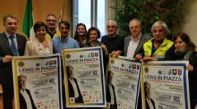Presentazione 'Lions in piazza', a Montemurlo