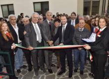 Taglio del nastro alla nuova sede CONI Toscana