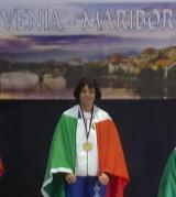 Francesca Gentile sul podio