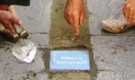 Il nome di Marco Banchelli nella Walk of Fame del KGH Group
