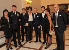 Al Gala' 'Vola con l'A.T.T.', al centro agnese Renzi (Foto Gianni Ugolini)