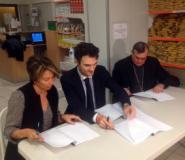 Si firma il protocollo per l'Emporio della solidarieta'