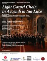 Locandina 'Light Gospel Choir in Accendi la tua Luce'