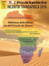 Locandina Incontri Transafrica 2016