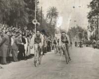 Arrivo della Milanco-Sanremo nel 1943