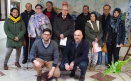 I volontari di IO Vo' con il sindaco Paolo Masetti