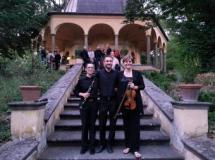 Trio della Camerata de' Bardi a Villa Demidoff